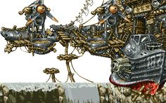 GIFs Of Metal Slug's Perfect, Intricate Pixel Art ... - All That Is Interesting