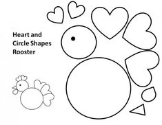 30 Best Printable Rooster Templates for Kids images