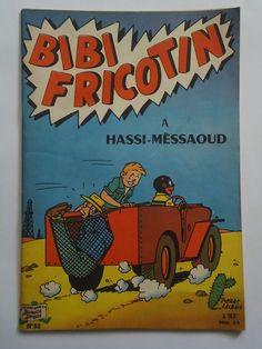 BIBI FRICOTIN  n° 52  A HASSI-MESSAOUD