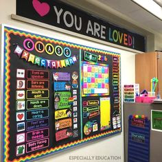 20 Ways to Brighten Up Your Classroom With a Vibrant Rainbow Theme – Bored Teachers