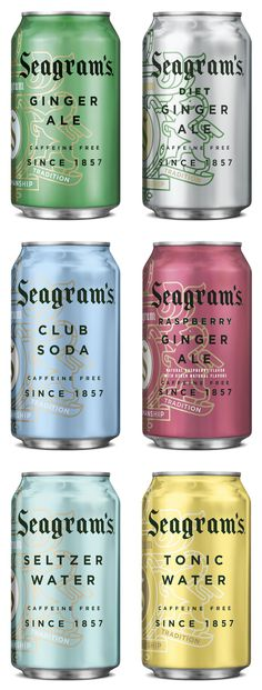 Seagram's Ginger Ale, new look