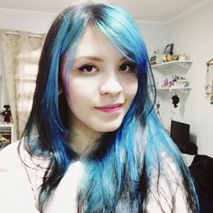 O Mundo de Jess » Dicas para pintar o cabelo de azul turquesa usando anilina