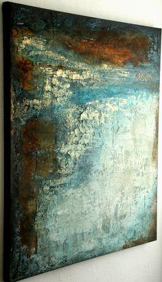 Annette kleiner - BildKunst 100/120/4 cm Modern Art, Contemporary Art, Central Saint Martins, Abstract Oil, Texture Art, Large Art, Art Sketchbook, Painting Inspiration, New Art
