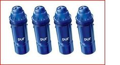 Pur Water Filter 2 Stage Pitcher Replacement 4 Pack New Filters
