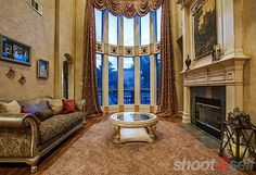 Grand window structure. Real Estate Photography | Shoot2Sell.net