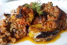 Fırında Kıymalı Patlıcan Musakka Tarifi