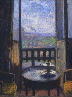 View from the Artist's Studio - Henri Martin