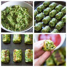 Vamos fazer um bolinho de brócolis pro lanchinho da tarde? Fonte: Receita do…