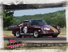 """You're looking at Road & Track Magazine's """"Car We'd Most Like to Race"""" -- It's Bob Bailey's 1968 Porsche 911L racecar!"""