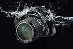 Attention high-end Nikon and Canon DSLR shooters: the Pentax K-30 Camera (USD850) will be arriving soon with plans on crashing your rain-soaked photo party. The K-30 boasts 81 seals that keep out rain, weather, and cold, allowing it to shoot in conditions normally reserved for the 3grand and up crowd.