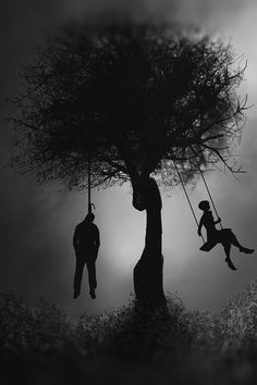 darkestdee:Different side of life by Virgard #Otrasdemencias #Jalouin #Halloween