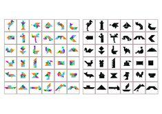 tanagram puzzles