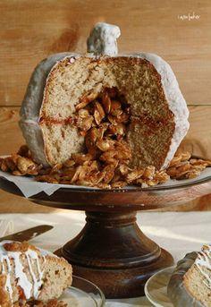 Pumpkin Velvet Surprise Inside Cake™