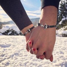 Anchored in love. Share your style by tagging #tomhope and visit the link in the bio to find your favorite bracelet.