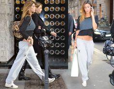 Belen Rodriguez fitness look.