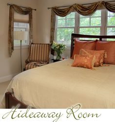 Hill House Bed & Breakfast in Asheville, NC. The Hideaway Room