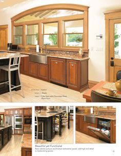 unfinished cabinets kitchen knotty alder with a cherry stain images 27628