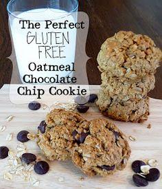 PaperDaisyKitchen: The Best Gluten Free Oatmeal Chocolate Chip Cookie
