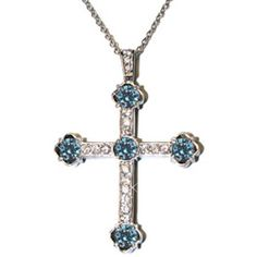 Just bought it, can't wait to get it!   Aquamarine Cross Pendant | Hope Faith Miracles by Kristian Alfonso