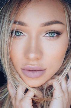 Simple Natural Makeup #makeuptips