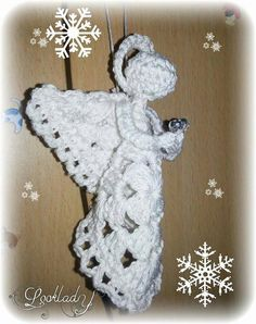 1000 images about 50 f tes de noel on pinterest noel - Patron ange de noel ...
