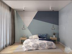 Bedroom Wall Designs, Boys Bedroom Decor, Room Ideas Bedroom, Bedroom Colors, Living Room Decor, Dorm Room Walls, Stylish Bedroom, Home Room Design, Room Paint