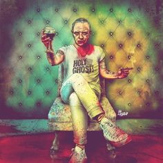 Hipster Hannibal Lecter by Fab Ciraolo