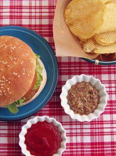 Cocina de Muerte Lenta: Hamburguesas de Garbanzos con Nueces