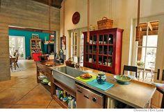 The Virginia House: Diving Into The Farmhouse Kitchen