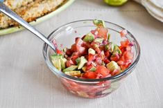 strawberry avocado salsa was AWESOME but I have not tried the chicken attached to this link