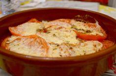 Provolone horno, receta deliciosa