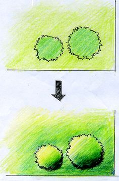 建築パース 手描きパースと水彩画