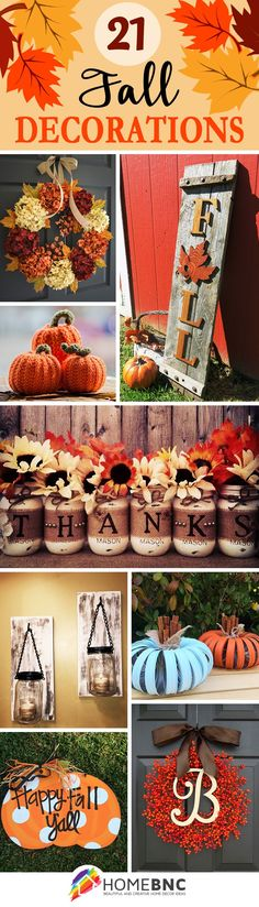 Fall Decoration Ideas