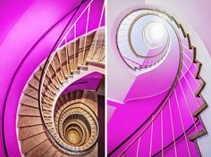© Christian Öser stairs seen from above and from below