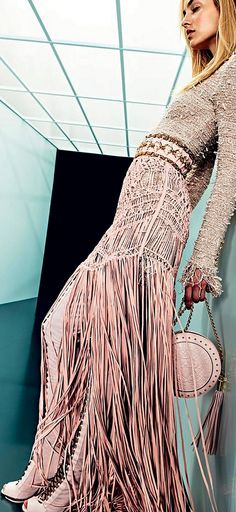 Balmain Resort 2018Vogue