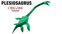 Origami Plesiosaurus tutorial (Satoshi Kamiya) 折り紙  プレシオサウルス  оригами учебник  плезиозавр: PLEASE SUBSCRIBE! : https://www.youtube.com/user/Marianozb?sub_confirmation=1 LIKE US ON FACEBOOK!  http://ift.tt/2isLRM5 FOLLOW ME ON INSTAGRAM!  http://ift.tt/2iomE26 LOOK AT MY FLICKR:  http://ift.tt/2it0kHV VISIT MY WEBSITE:  http://ift.tt/2iokXBV   Cómo hacer un Plesiosaurus en Origami Diseñado por Satoshi Kamiya ========================================   Nivel de dificultad: Intermedio  Papel…