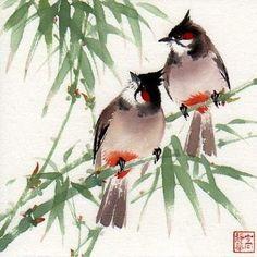 Jinghua Gao Dalia. Chinese Brush Painting | ART: Chinese Art ...