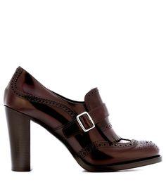 Church's - Leather brogue pumps | mytheresa.com