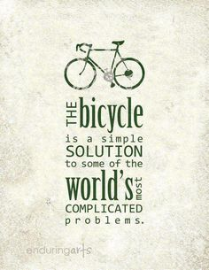 The Bicycle ...