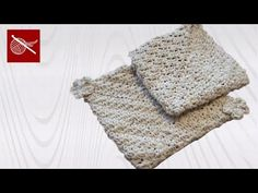 Crochet Geek : Crochet Magic Double Thick Potholder - Seed Stitch