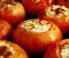tomate recheado com frango dukan