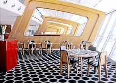 Marc Newson Qantas Restaurant Interior Design In Qantas Sydney Terminal