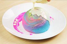 Surprise-Inside Tie-Dye Chocolate Ball