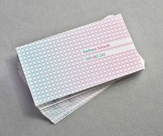 Business Card with Pattern Design 06