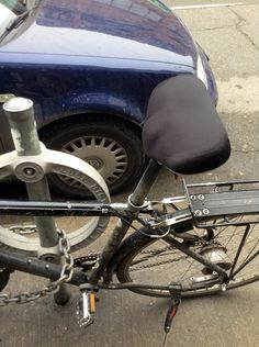 Such an unusual bicycle seat