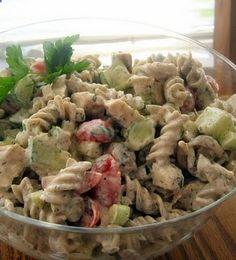 Dill Chicken Pasta Salad