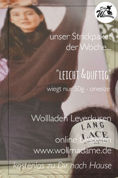 Lang Yarns Lace Pullover / Fatto a Mano 261 Modell 52