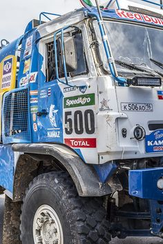 KAMAZ Master Team Truck #Dakar2015 #Tecnopolis #Dakar #KAMAZ