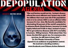 The ruling Elite's United Nations sponsored Agenda 21 plan for the cull and complete enslavement of humanity