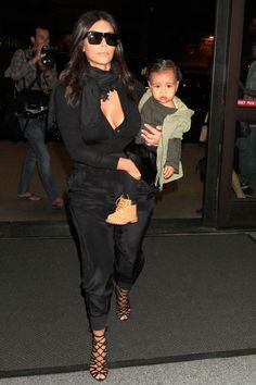 Kim visits Kanye's Yeezus pop-up store in Melbourne on Sept. 9, 2014. SplashNews -Cosmopolitan.com